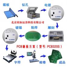 PCB雕刻机物理制板方案 PCB320S