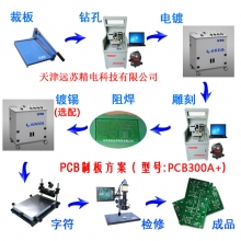 PCB300A+ 全自动换刀雕刻机 批量生产pcb雕刻机 制板方案