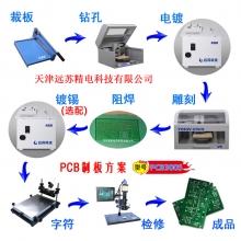 PCB制板带绿油字符 PCB300S成品板电路板制作