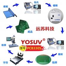 高精密pcb线路板制作设备 雕刻机制板PCB330S