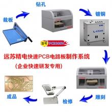 远苏精电PCB300V 企业研发专用高精度pcb制作设备